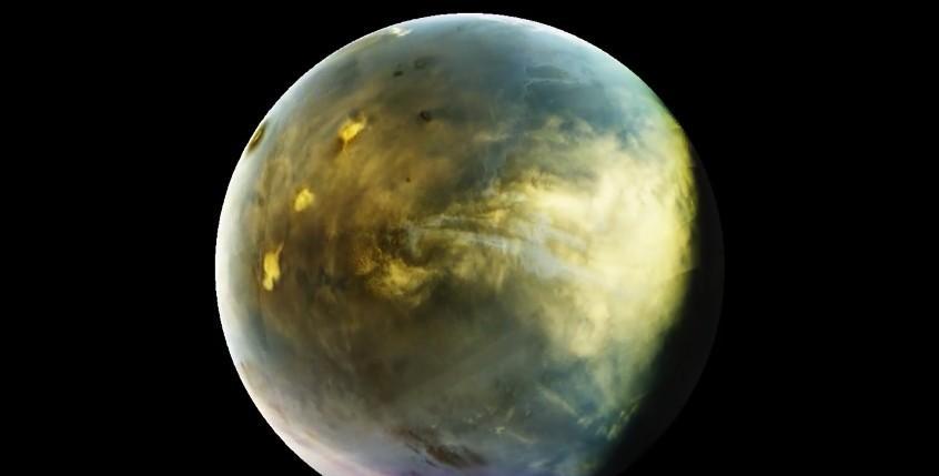Необычное свечение Марса в ультрафиолетовом спектре продемонстрировало NASA