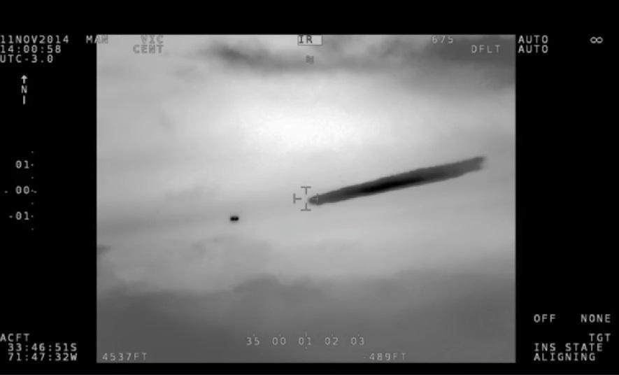 Засекреченную видеозапись с НЛО обнародовали чилийские военные