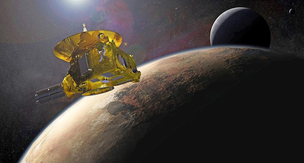 За зондом New Horizons несколько дней «следила» карликовая планета - сообщает NASA
