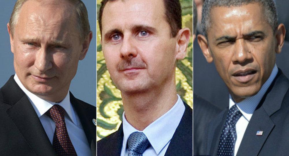 Путин, Асад и Обама