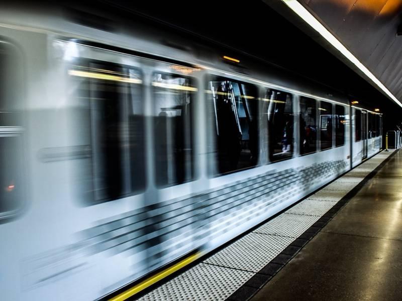 Скоростной поезд США