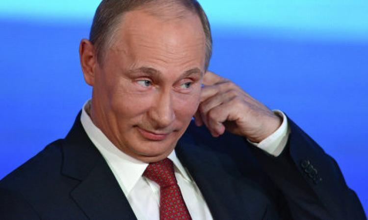Владимир Путин сообщил что мы в курсе, что ЦРУ ведет прослушку на территории России