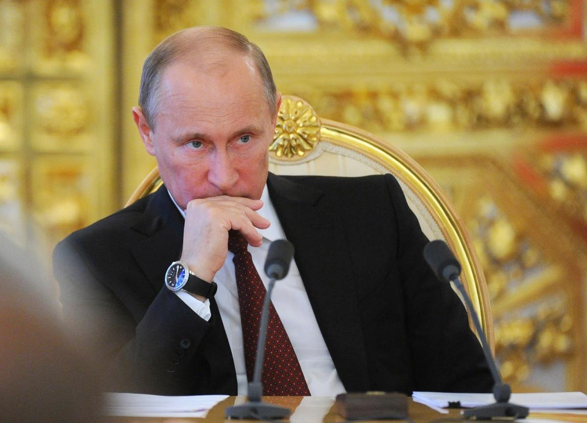 Путин освободил от должности более 10 генералов МВД РФ