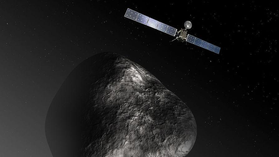 Твердая органика впервые найдена на комете Чурюмова-Герасименко зондом «Розетта»