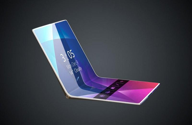 В сети появились изображения сгибающегося смартфона Samsung Galaxy F