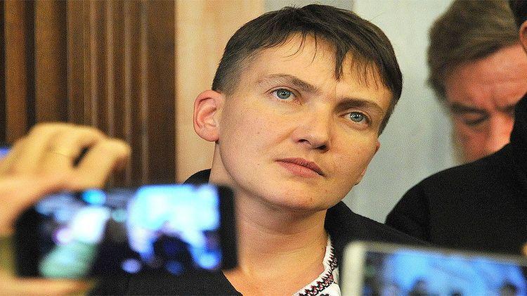 Надежда Савченко объявила сухую голодовку СБУ Украины, обвинив службу в давлении и шантаже