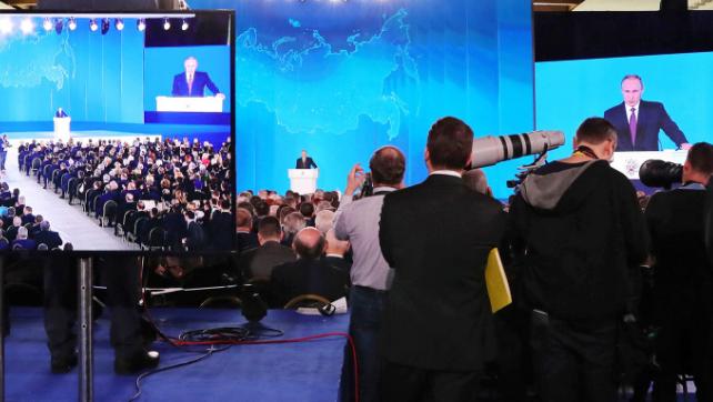 Отклики зарубежных СМИ на послание российского президента Федеральному собранию 1 марта 2018