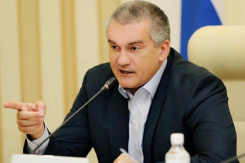 Аксенов заявил, что попытка теракта в Крыму была организована Госдепом США