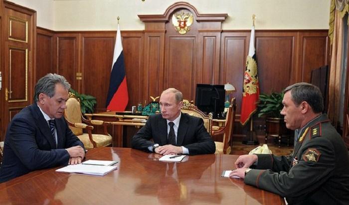 Путин, Шойгу, Герасимов