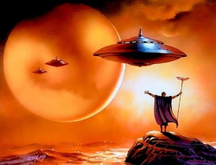 Древние шумеры совершали космические путешествия 5000 лет назад
