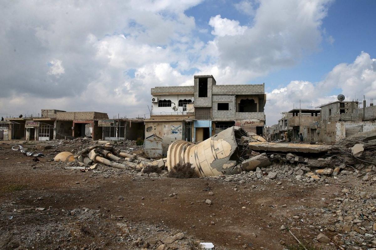 Разрушенная Сирия