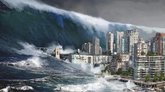 Русские ученые создали карту цунами на 1 000 лет вперед