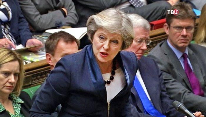 Британский парламент вновь отверг план Терезы Мэй по Brexit