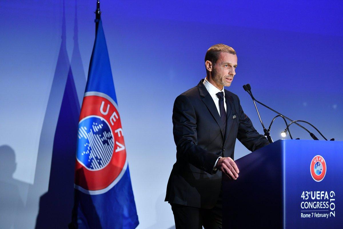 Президент УЕФА объяснил, зачем нужен третий футбольный еврокубок