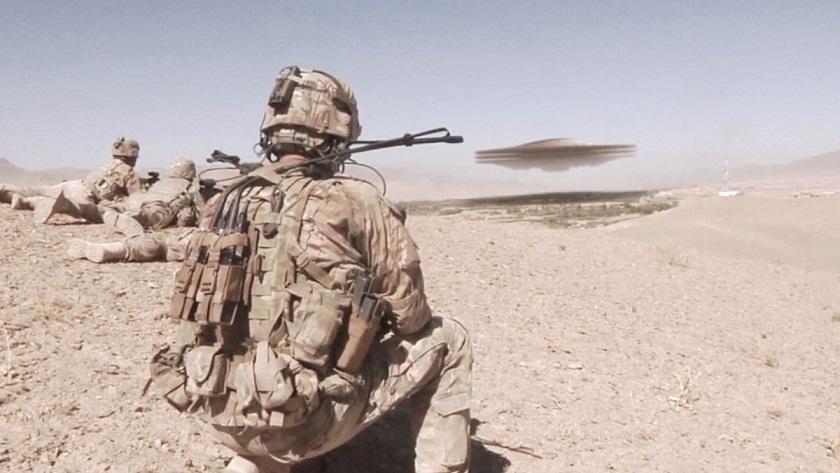 Американские военные столкнулись с огромным НЛО в Ираке