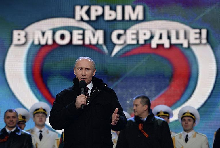Крымчане собирают средства для установки памятника В.Путину