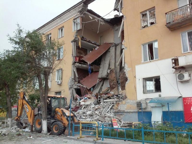 Взрыв дома в Волгограде