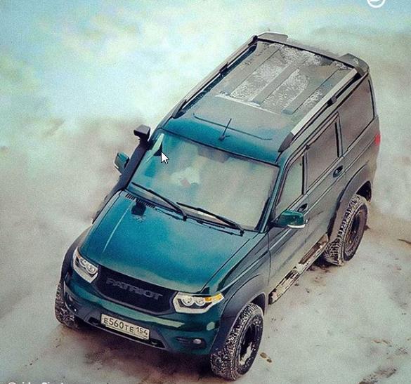 Брутальный внедорожник УАЗ Патриот с коробкой автомат появится в следующем году – УАЗ