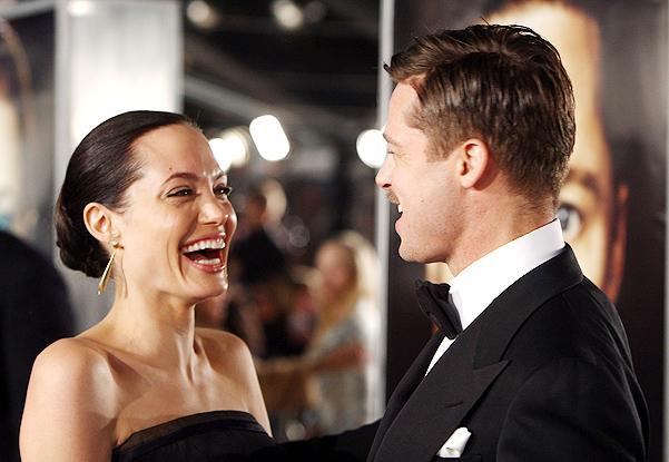 Счастливая Анджелина Джоли была замечена в Малибу