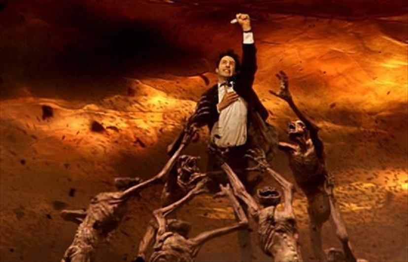 Путешествие в ад совершил мужчина во время комы