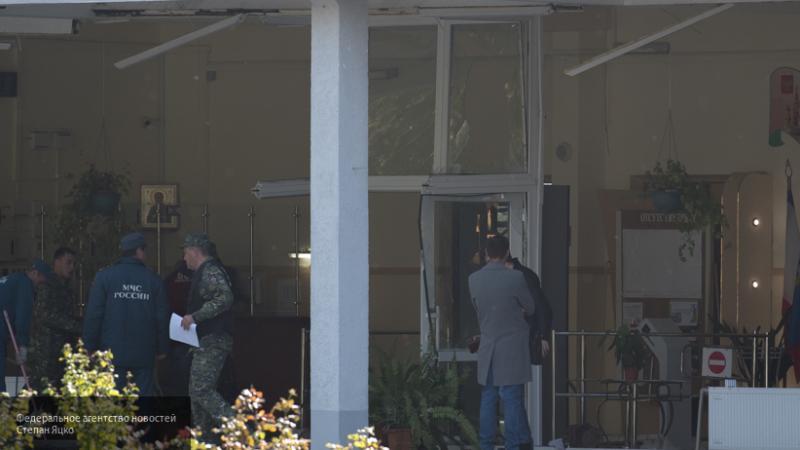 СК РФ опубликовал в Сети фрагмент следственных действий в Керченском политехническом колледже
