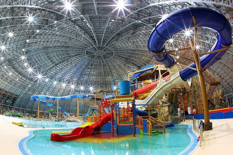 Один изсамых огромных аквапарков Российской Федерации может появиться вСтаврополе