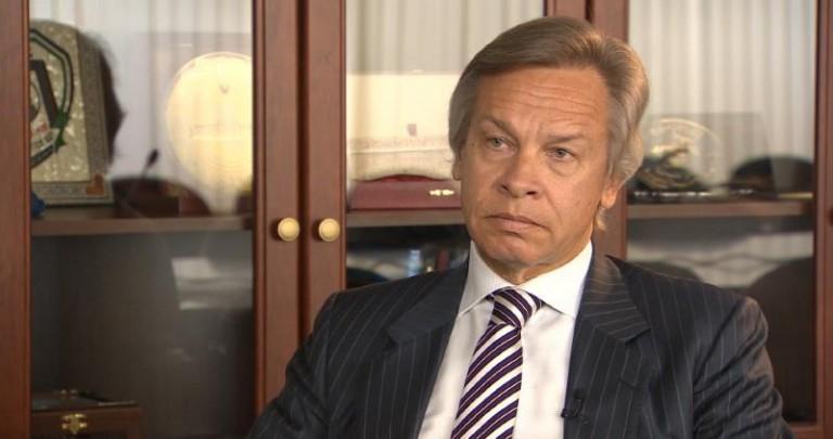 Сенатор Пушков прокомментировал заявление о Крыме украинской журналистки Олеси Медведевой