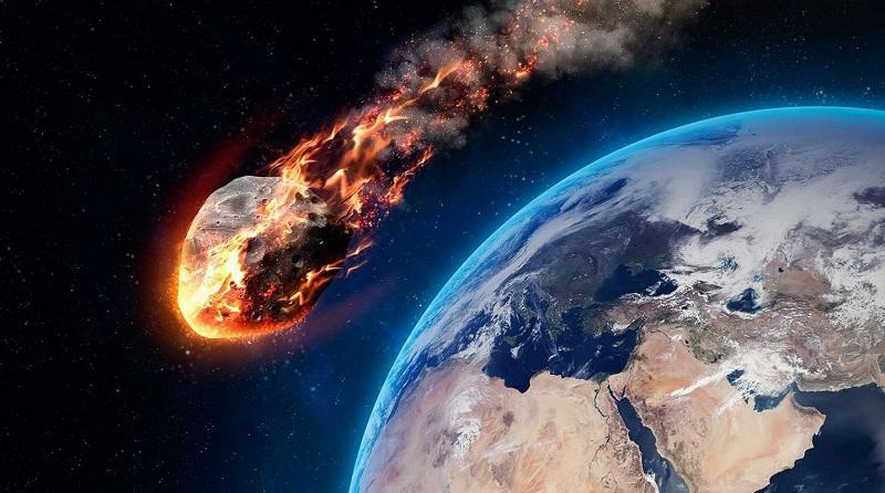 Специалисты показали, что произойдет с Землей при столкновении с гигантским астероидом