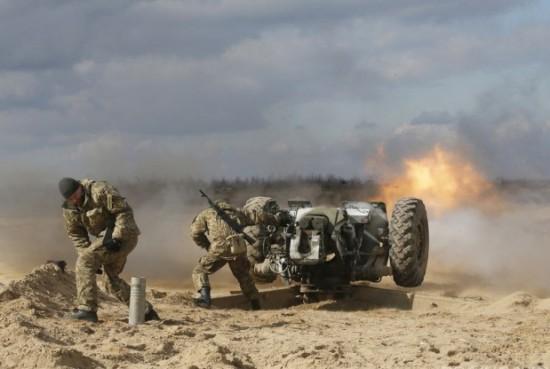 Украинские войска начали наступление на юге ДНР