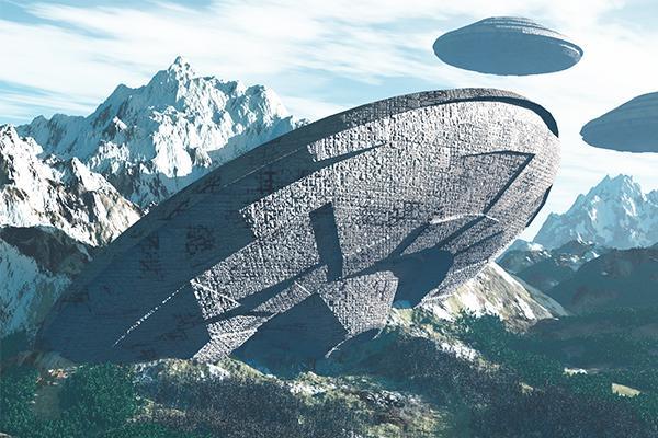 Инопланетяне прячутся в горах США: НЛО с пришельцами застукали у секретной базы