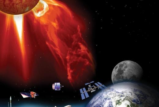 На Солнце мощные вспышки «атакуют» Землю в ближайшие дни