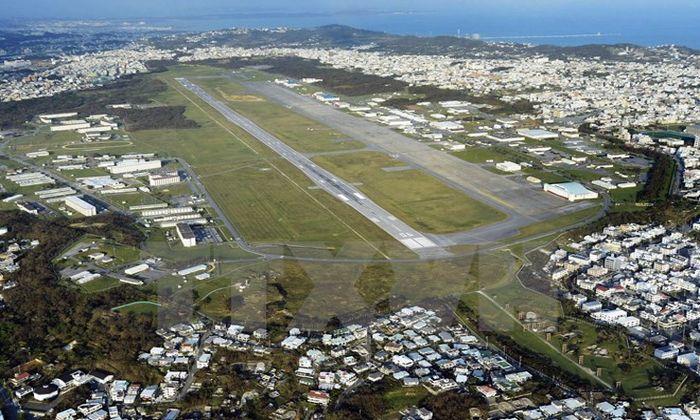 Неизвестные пробрались на военную базу США в Японии, прогремел взрыв