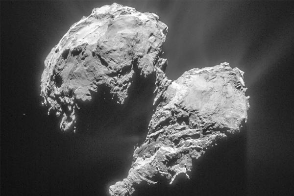 Розетта нашла медузу и морского конька на комете Чурюмова-Герасименко