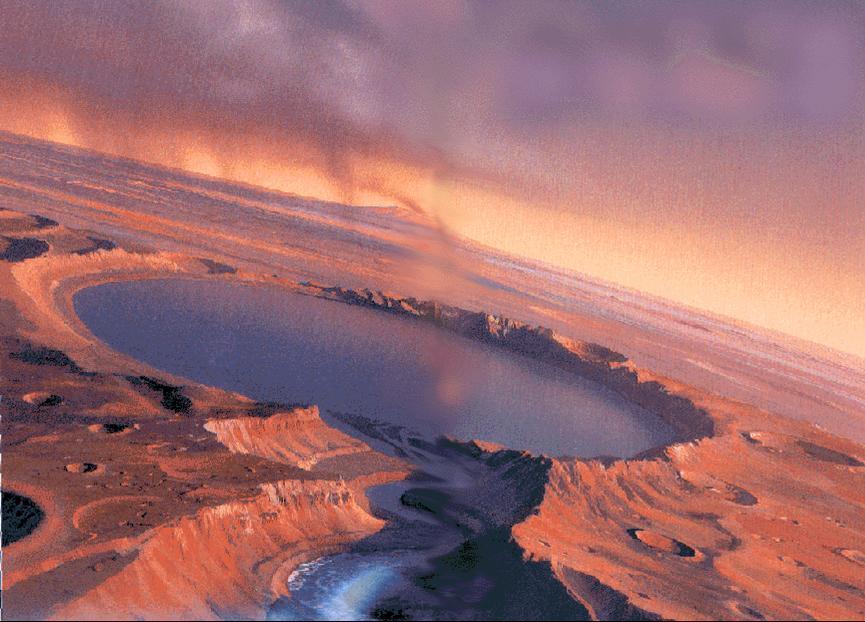 Ученые: На поверхности Марса отсутствует жидкая вода