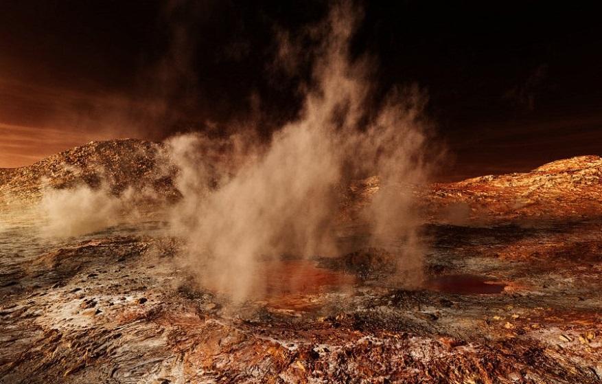 Передвижение огромных объектов зафиксировано на Марсе ученые ищут объяснение