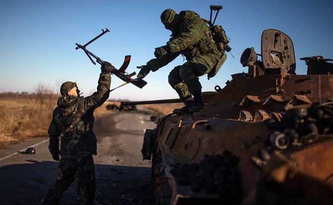 Украинские войска под Мариуполем приведены в состояние повышенной боеготовности