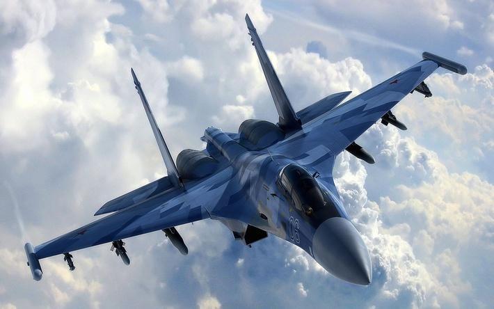 В США перекрасили под российский Су-34 один из своих боевых самолетов, замаскировав его в Сирии