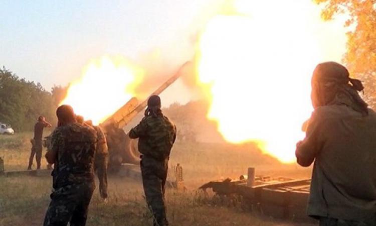 В ДНР сообщили о смерти пяти силовиков после наступления на юге республики