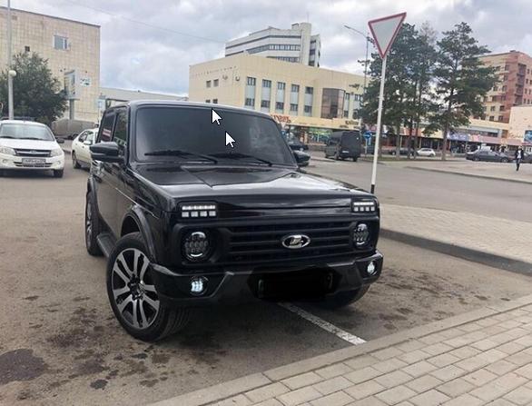 Резвый внедорожник Лада 4х4 покоряет соцсети – АвтоВАЗ