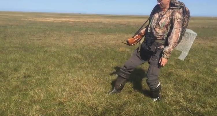 Ямальские ученые обнаружили на острове Белый газовые пузыри