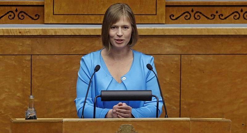 Президент Эстонии дала русским твердое обещание