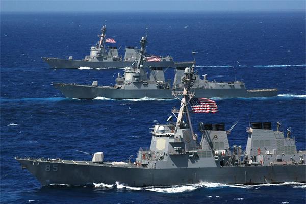 Ученые: 18 военных баз США в Мексиканском заливе будут уничтожены наводнениями и штормами
