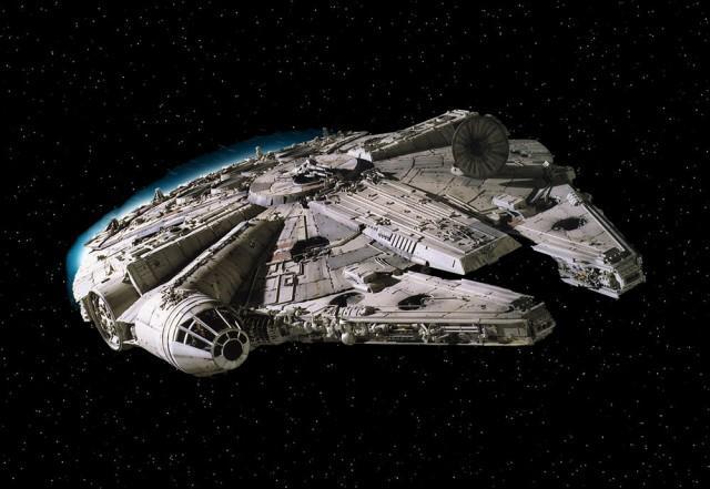 Корабль из «Звездных войн» шокировал своим появление жителей штата Нью-Йорк