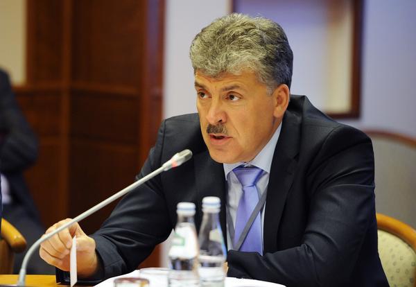 Павел Грудинин может на равных соперничать с Владимиром Путиным – считает Венедиктов