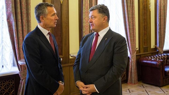 Порошенко сдал НАТО «российских агрессоров»