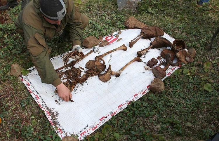 Археологи обнаружили останки советских солдат, пропавших на острове Шумшу