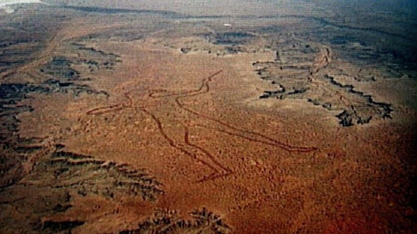 Тайна гигантского геоглифа в австралийской пустыне до сих пор не раскрыта