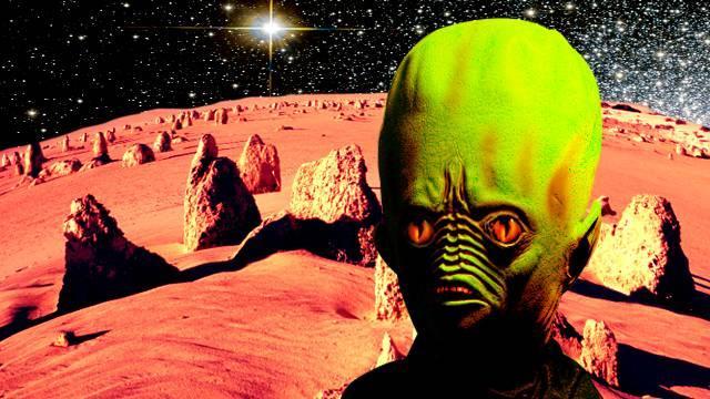 Марсианин-лилипут поселился на Красной планете – уфолог