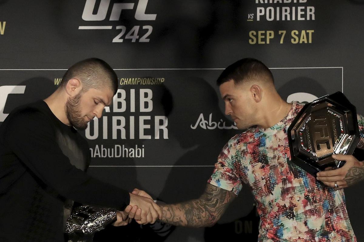 UFC опубликовал проморолик к главному событию года: бою Нурмагомедова и Порье