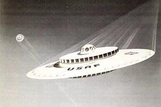 ВВС США испытывает летающую тарелку